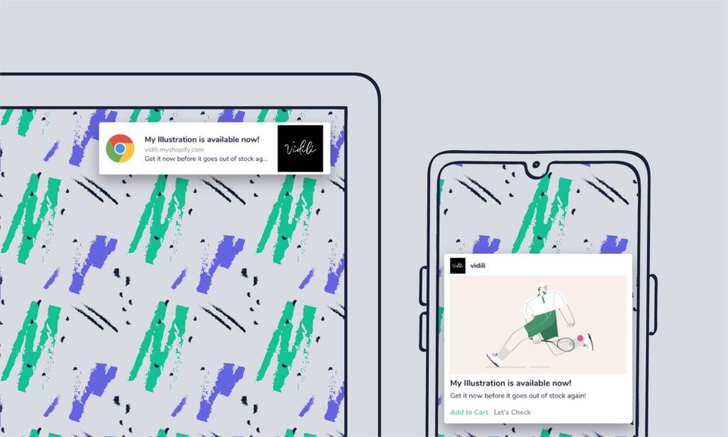 web push notification examples